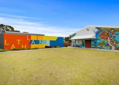 Lathlain Community Centre Main Side View